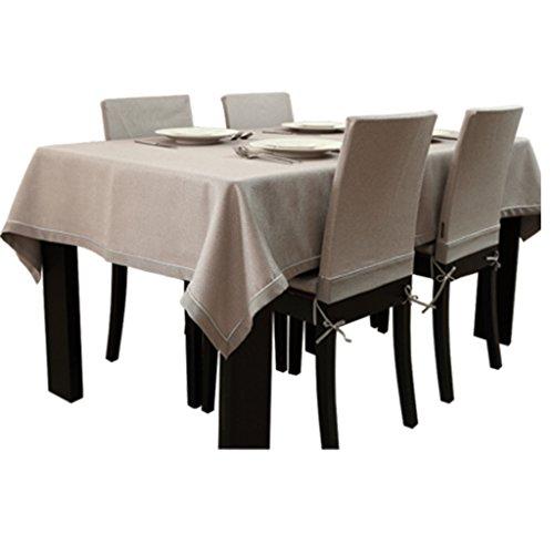 Nappe couleur unie West table en tissu tissu mode table basse nappe moderne minimaliste (Size : 140 * 200cm)