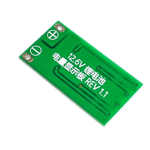 Relais Módulo indicador de Capacidad de batería de Litio Lipo Li-Ion Nivel de Potencia Placa de visualización 3 Series 9-26V 3S 11.1V 12V 12.6V Interruptor de relé WiFi