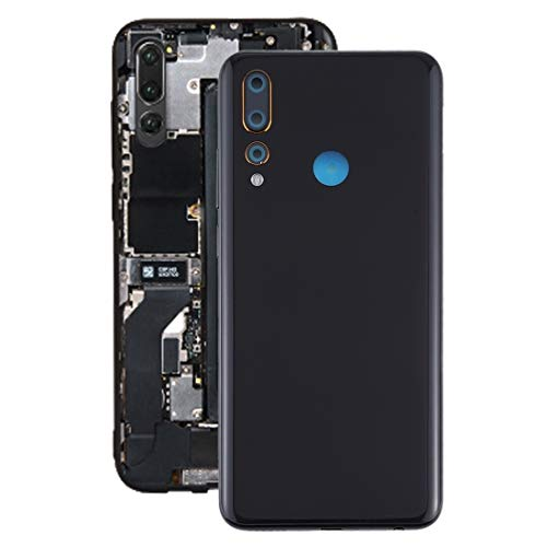 209925 Repair Spare Parts Cell Phone Accessories Back Cover for Lenovo K6 Enjoy(Black) Cell Phone Accessories (Color : Black)