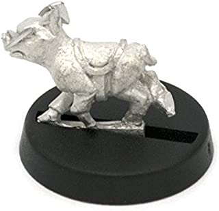 Stonehaven Tiny Pig with Saddle Miniature Figure (for 28mm Scale Table Top War Games) - Made in USA