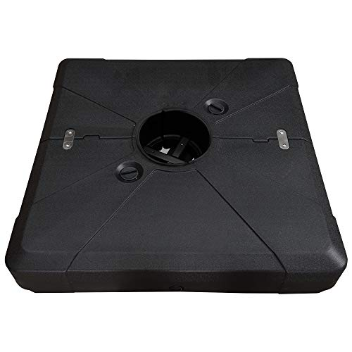 "PURPLE LEAF Offset Patio Umbrella Base Sand/Water Filled Square, 33.8'' X 33.8'' (33.8""X33.8"")"