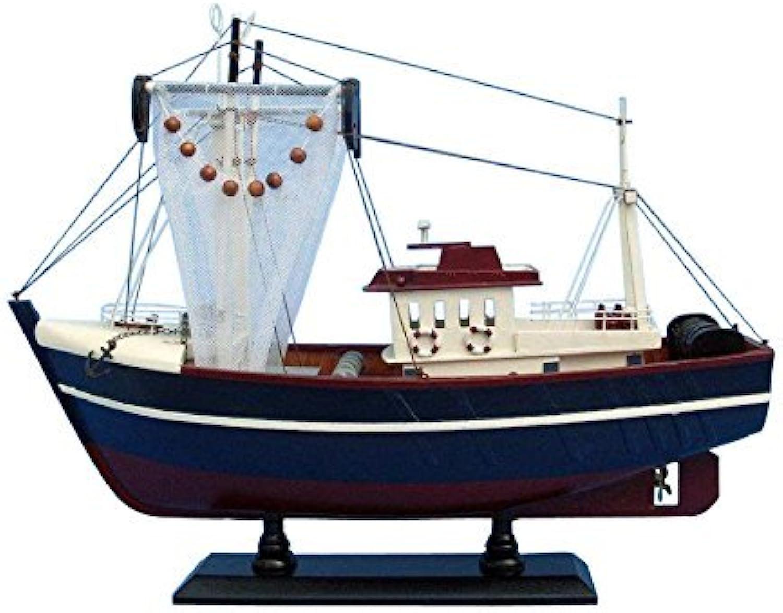 tienda de ventas outlet Fishin Magician 18 - Wooden Wooden Wooden Model Fishing Boat - Scale Model Ship - Handcrafte by Handcrafted Model Ships  barato y de alta calidad