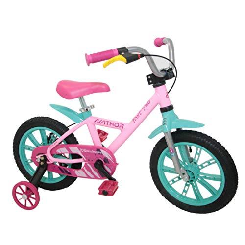 Bicicleta Infantil de Alumínio Aro 14 De 4 a 6 Anos Feminina FirstPro