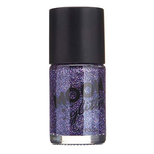 Holographischer Glitzer Nagellack von Moon Glitter - 14ml - Violett