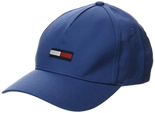 Tommy Jeans TJM FLAG CAP Baseball Cap Herren, Blau (Blue Ce4), One Size (Herstellergröße:OS)