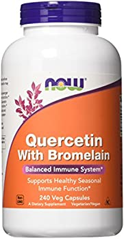 Quercetin with Bromelain Now Foods 240 VCaps