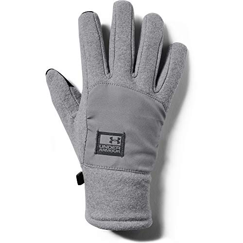 Under Armour Herren Men's CGI Fleece Glove Handschuhe, Grau, Small