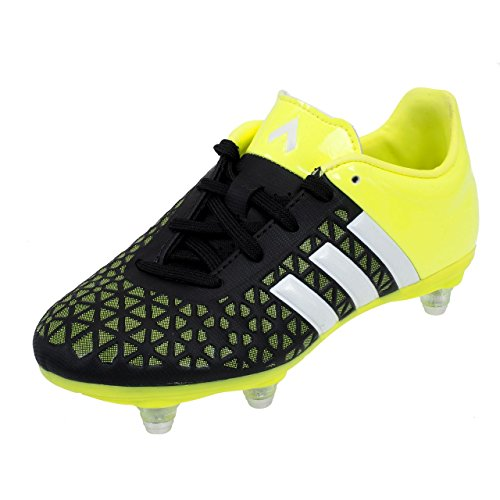 adidas Ace 15.3 SG Kids Voetbalschoenen - Maat 1 Zwart