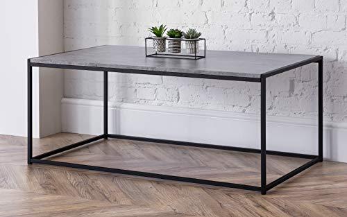 Julian Bowen Staten Concrete Coffee Table Tavolino da caffè, taglia unica