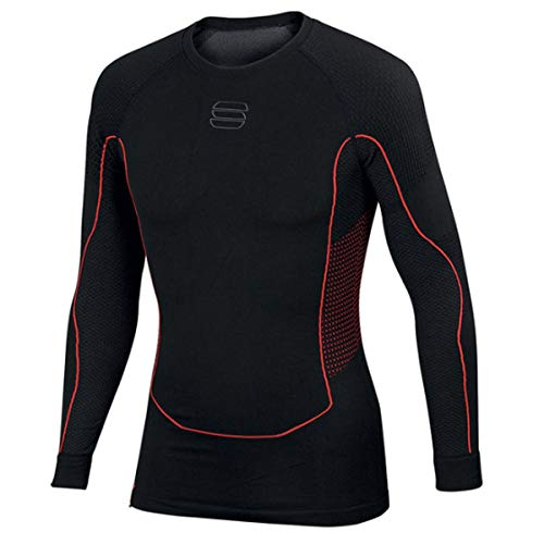 Sportful 2nd Skin Top – Noir, Rouge, M/L