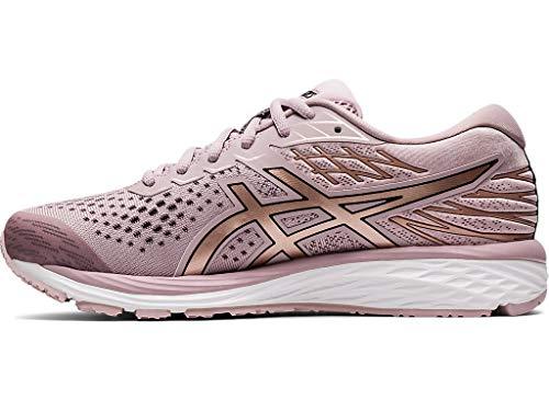 ASICS Women's Gel-Cumulus 21 Running Shoes, 9M, Watershed Rose/Rose Gold 3