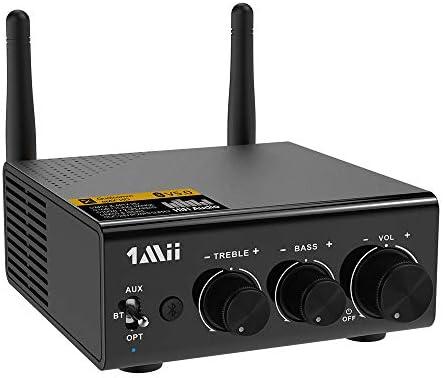 1Mii Bluetooth 5 0 Stereo Audio Amplifier Receiver 2 1 Channel Mini Hi Fi Bluetooth Digital product image
