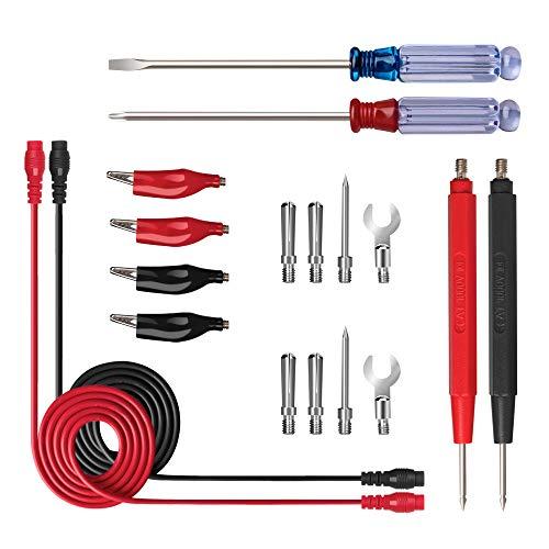 Multimeter Messleitung Multimeter zubehör Messleitungen mit Bananenstecker, Prüfspitze, Multimeter-Stick für labor test, elektrische prüfung (Stil 2)