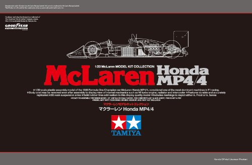 Scale Limited Series 1/20 McLaren Honda MP4/4 89719