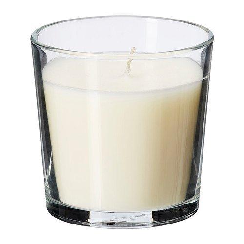 Ikea 103.374.07 Sinnlie - Vela perfumada en vaso de vainilla
