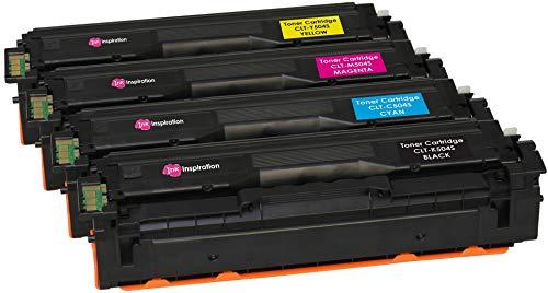 4er Set Premium Toner kompatibel für Samsung Xpress SL-C1810W SL-C1860FW CLX-4195FN CLX-4195FW CLP-415N CLP-415NW CLT-504S | Schwarz 2.500 Seiten & Color je 1.800 Seiten