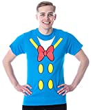 Disney Donald Duck Shirt Men's I Am Donald Costume Classic Cartoon Adult Licensed T-Shirt (Medium) Turquoise