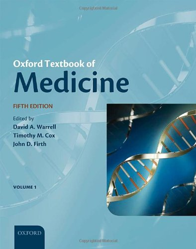 Download Oxford Textbook of Medicine (Warrell, Oxford Textbook of Medicine) 0199204853