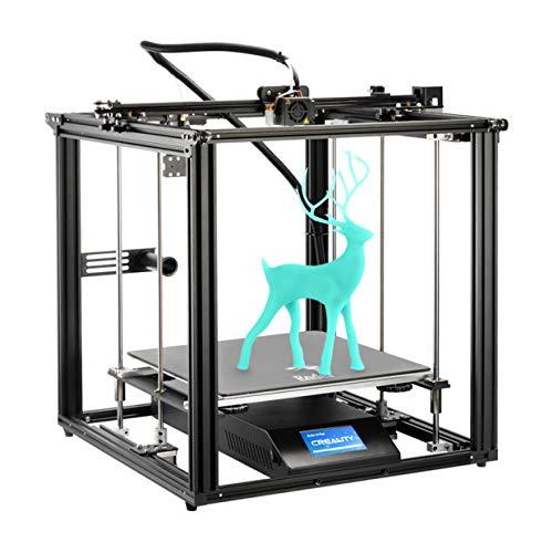 Impresora 3D oficial Creality Ender 5 Plus con BL Touch, placa de vidrio templado y pantalla táctil a color, gran volumen de construcción 350X350X400mm
