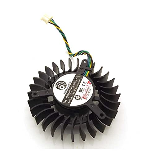 PLB05010S12H-3 12V 0.27A 55mm For XFX 9800GT 7800GTX GTS 240 Graphics Card Cooling Fan 4Wire 4Pin