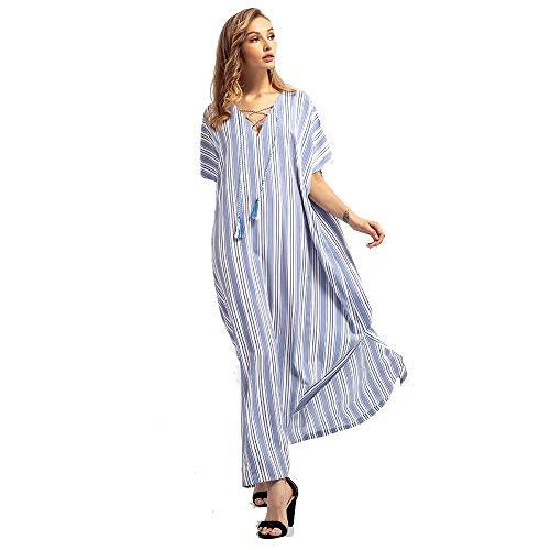 EVFIT Vestidos de Verano Vestido de Novia de Gran tamaño for Mujer,...