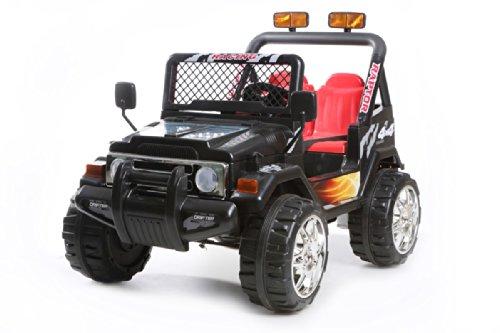 4X4 jeep noir 12V