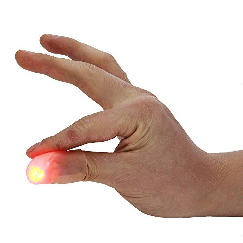 88 Merchandise Light Up Thumbs Magic Trick Disappearing Silk Fake Thumbs Tricks, Set of 2