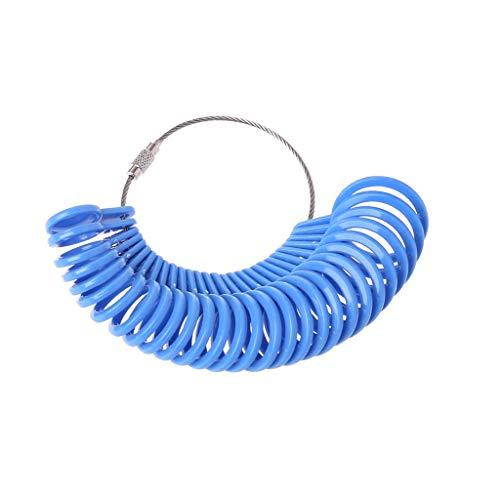 Finger Gauge Ring Plastic Ring Size Mandrel Stick Sizer Measuring Jewelry Tool