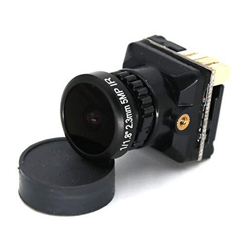 Absir FPV Kamera 1 / 1.8 800TVL HD CCD 2.3mm 5MP OSD Taste DC 5-.30V NTSC PAL Einstellbarer Winkel Umschaltbare Kamera Für RC Quadcopter Drone Schwarz