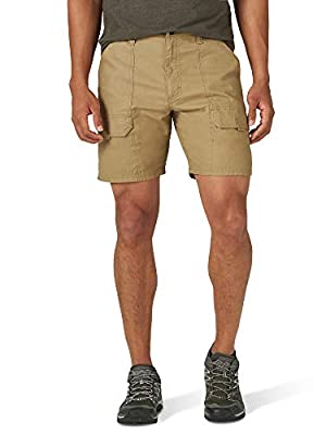 Men's Elastic Stretch Hiker Short (Elmwood, 32)