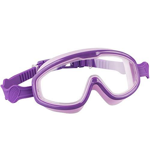 Kids Swimming Goggles, Swimming Goggles Kids Anti-Fog Anti-Leak UV...