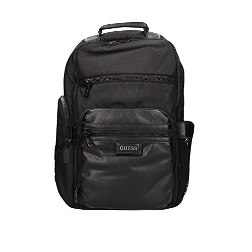 Guess Massa Multifunction BACKPACK, Men, BLACK, One Size