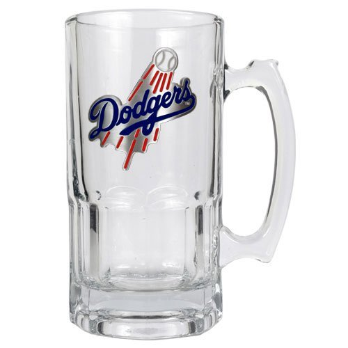 Los Angeles Dodgers MLB 2pc Rocks Glass Set - Primary Logo