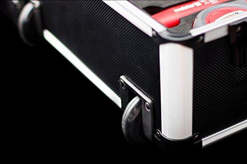 Meister Werkzeugtrolley 156-teilig ✓ Werkzeug-Set ✓ Mit Rollen ✓ Teleskophandgriff | Profi Werkzeugkoffer befüllt | Werkzeugkiste fahrbar auf Rollen | Werkzeugbox komplett mit Werkzeug | 8971440 - 12