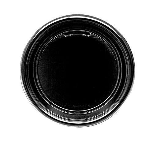 Platos desechables negro (plástico, 30 unidades)