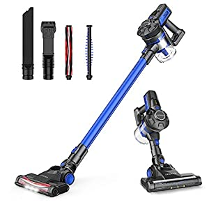 JASHEN Cordless Vacuum Cleaner 180W, Powerful Suction Vacuum Cleaner,2 In 1 Handheld Lightweight Stick Vacuum with Rechargeable Battery For Floor Carpet Pet Hair.