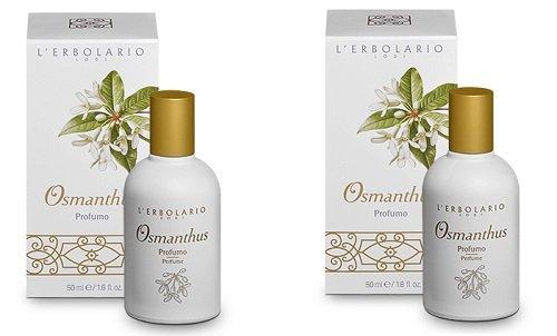 Erbolario - OSMANTHUS Parfüm 2 Packungen à 50 ml