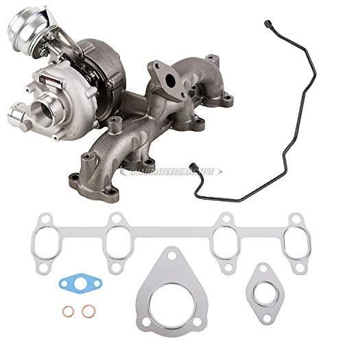 Stigan Turbo w/Turbocharger Gaskets & Oil Feed Line For VW Golf Jetta Beetle TDI ALH 1999 2000 2001 2002 2003 2004 - Stigan 842-0094 New