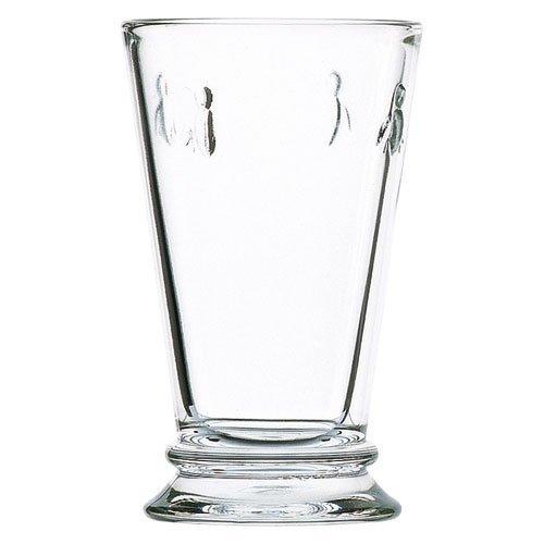 La Roche Bee FBA_43606701 Großer Glas Becher, 10 Unzen, Packung von 6