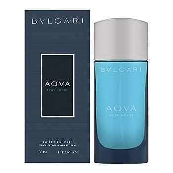 Aqva Pour Homme By Bvlgari For Men Eau De Toilette Spray 1 oz