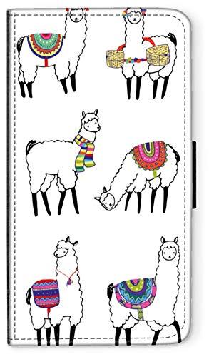 CoverCase Funda con tapa para Samsung Galaxy S5, diseño de alpaca M2