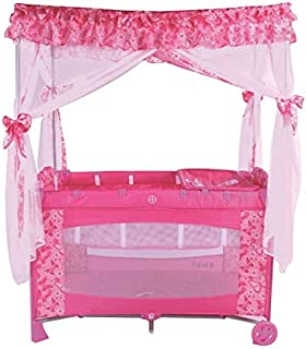 Cradle for Children with Mosquito Net by Babylove, Pink, 27-910A