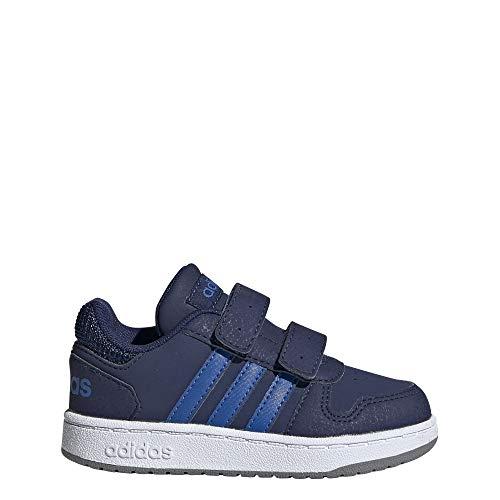 Adidas Hoops 2.0 CMF I, Zapatillas de Baloncesto Unisex Adulto, Multicolor (Azuosc/Azul/Gritre 000), 54 2/3 EU