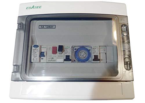 Qfp Cuadro eléctrico de Piscina. 1.5 CV Transformador 50W + Regalo - 109,00€