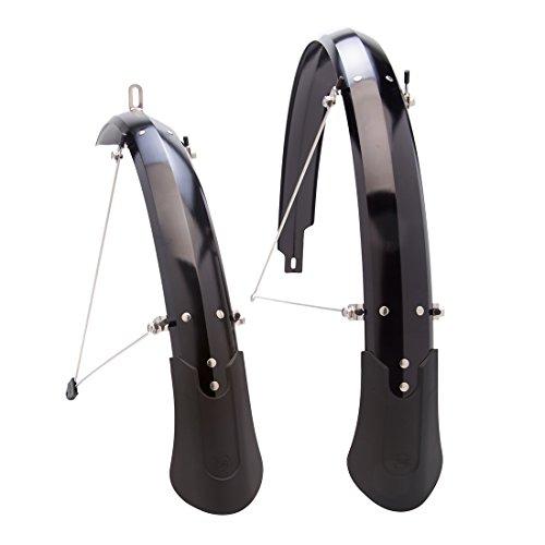 "Planet Bike Cascadia ALX Bike Fenders, Black, 27.5"" x 60mm"