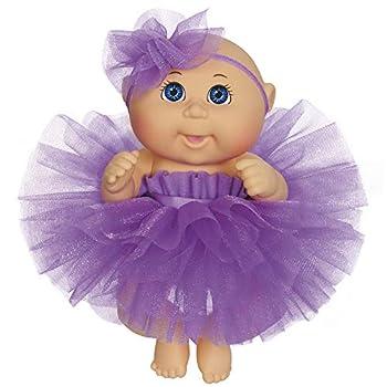 Cabbage Patch Kids 9  Dance Time Girl Blue Eyes Purple Tutu