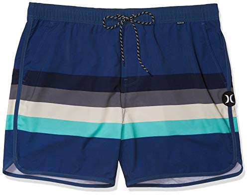 Hurley Herren Boardshort M Phantom River Volley 17', Mystic Navy, L, BV1821