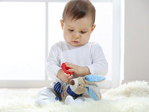sigikid, Mädchen und Jungen, Spieluhr, Stofftier Hase, Blau/Grün, 40356 - 2