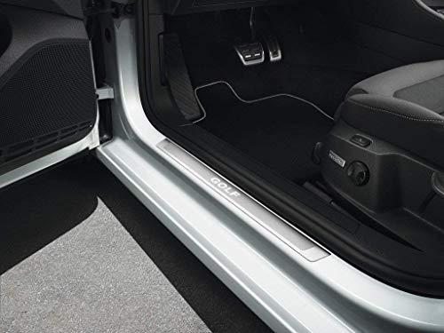 Volkswagen Original Einstiegsleisten Set VW Golf 7 (5G) Edelstahl Tuning Schriftzug 5G0071303 (2-Türer)