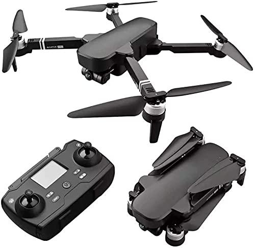 BD.Y Drone, 2 km Drones Flight 28 Min Professional Drones con 6K HD Cámara cardán mecánica de Dos Ejes 5G WiFi FPV RC Motor sin escobillas Quadrotor Helicóptero 3batería